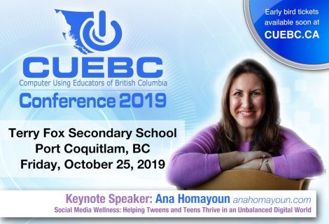 CUEBC 2019 PSA Conference Registration Now Online!