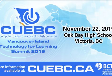 CUEBC Vancouver Island Technology for Learning 2019 Registration