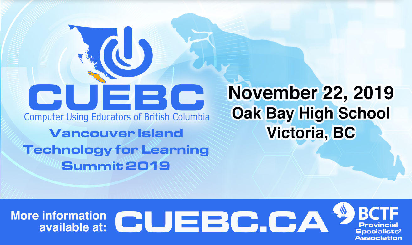 CUEBC Vancouver Island – Workshop List
