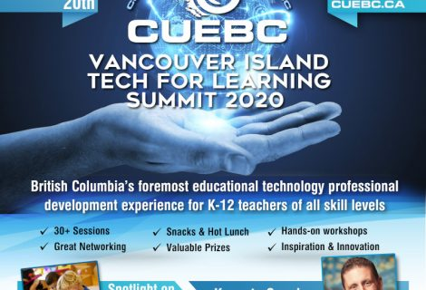 CUEBC Vancouver Island Technology for Learning 2020 Registration