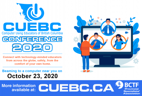 CUEBC 2020 PSA Conference Registration Now Online!